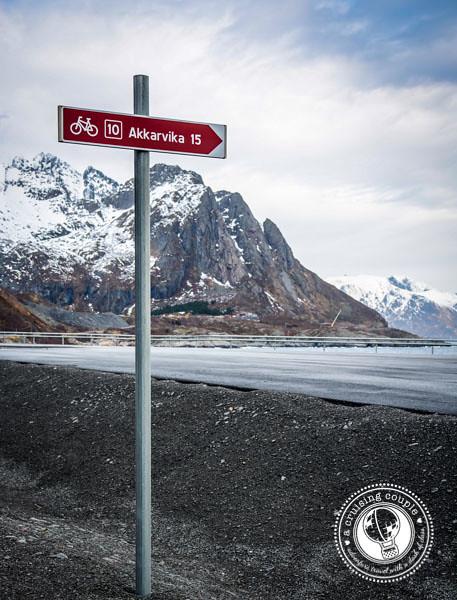 Cycling Path Lofoten Islands