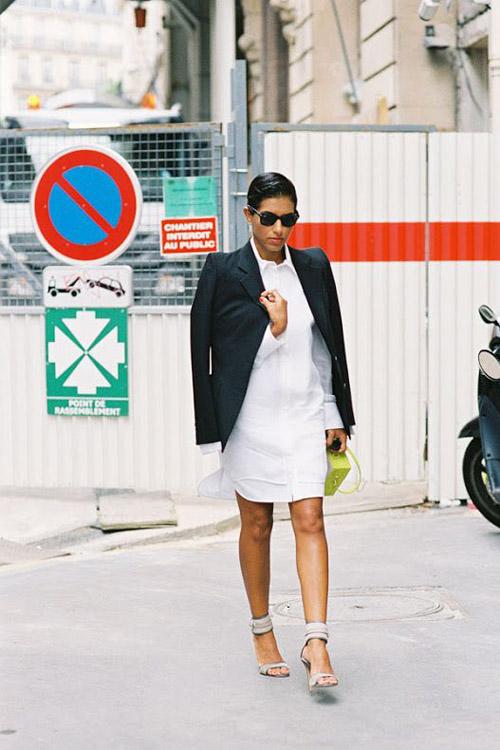 How to Style a White Shirt-Dress | Dress Me Blog Me