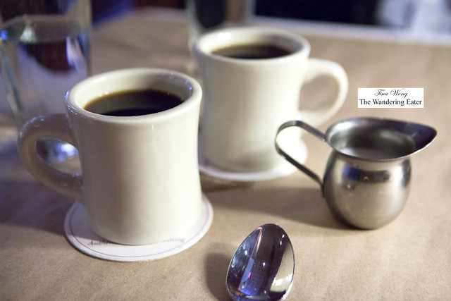 Our mugs of coffee