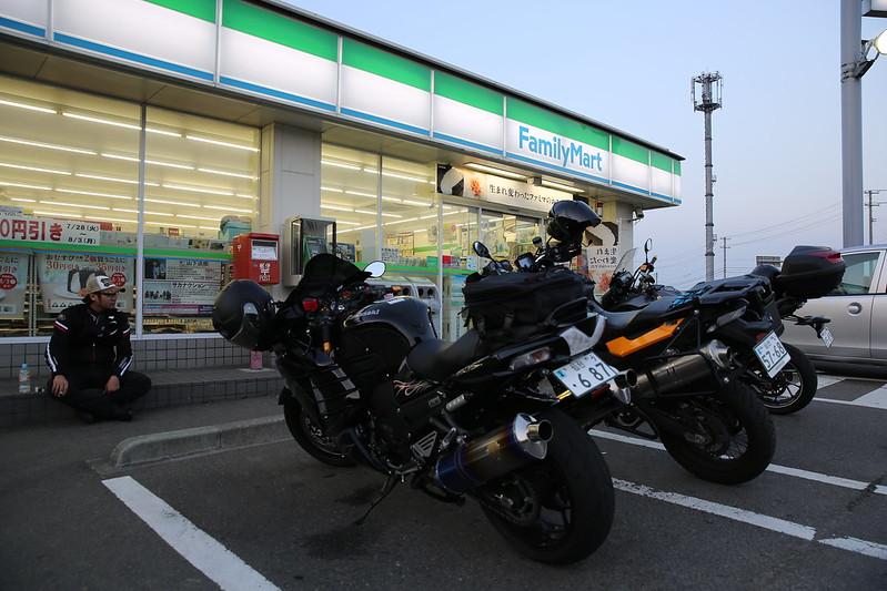 20150730 福島どらや製菓ツーリング