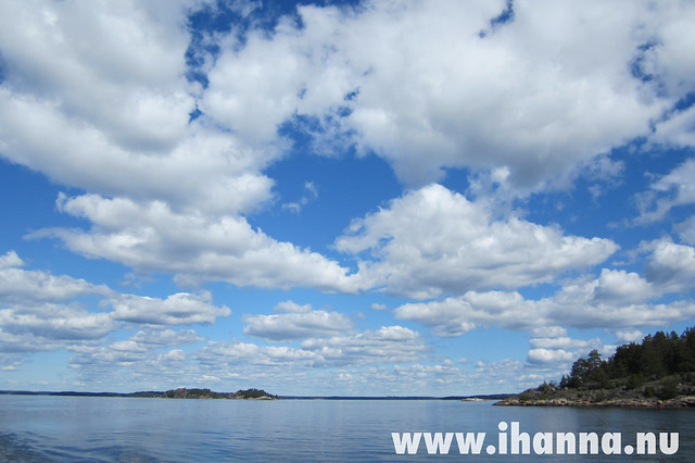 The Sky above Water - photo by Hanna Andersson/iHanna