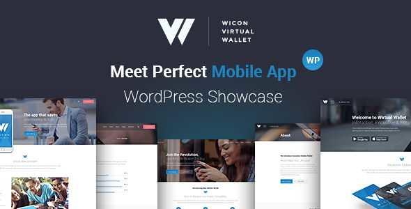 Wicon WordPress Theme free download