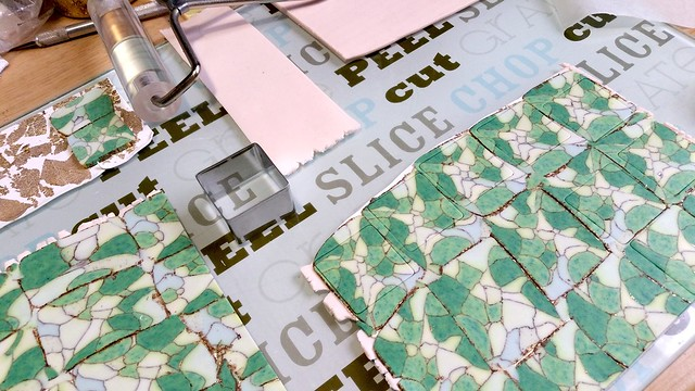 WIP - mosaic tiles 2