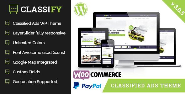 Classify WordPress Theme free download