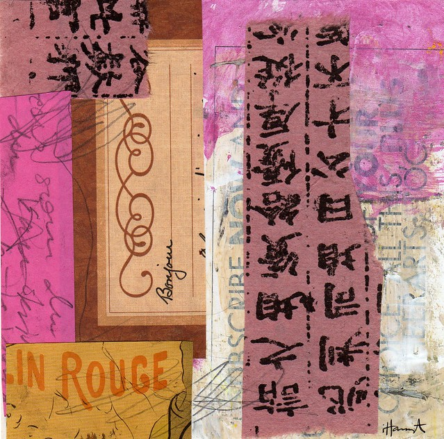 Collage: In Rouge