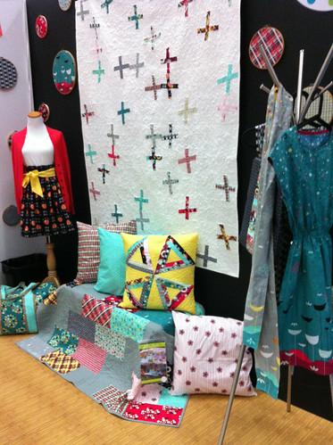 Quilt Market Booth - Jeni Baker by Jeni Baker