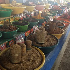 Spices at the Chorsu Bazaar in Tashkent. A fun afternoon haggling over supplies for my entry into Tajikistan.