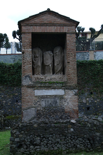 Enterramiento en Pompeya