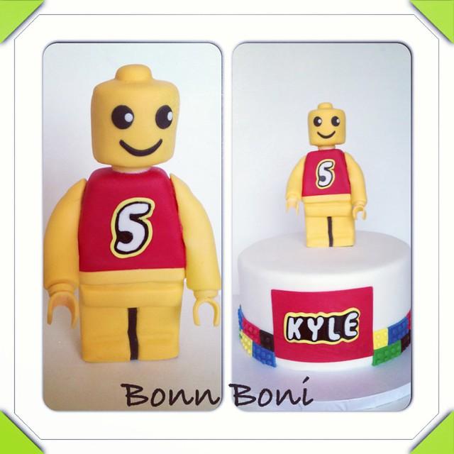 Lego Cake Decorating Kit