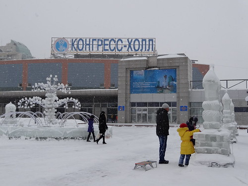 From snow to summer in Astana, Kazakhstan
