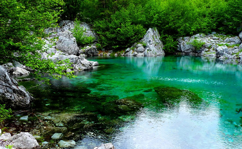 Glacial Pond Albania #Valbones #Dailyshoot