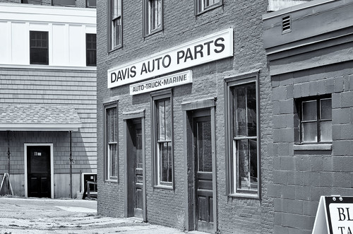 Empty Auto Parts Store