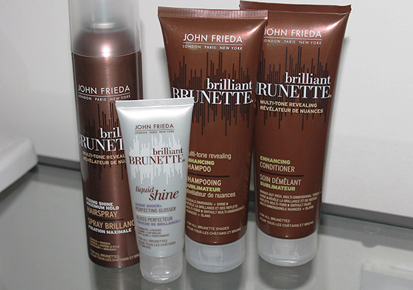 John Frieda Brilliant Brunette Collection