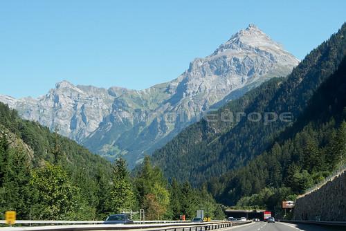 スイスアルプスを後にする