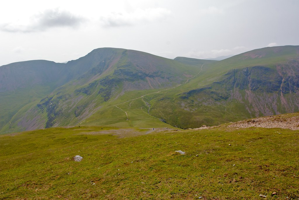 Eel Crag from Sand Hill