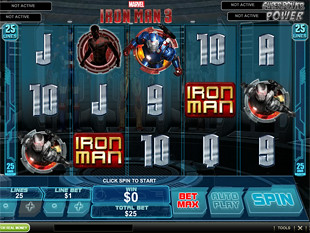 Iron Man 3 slot game online review