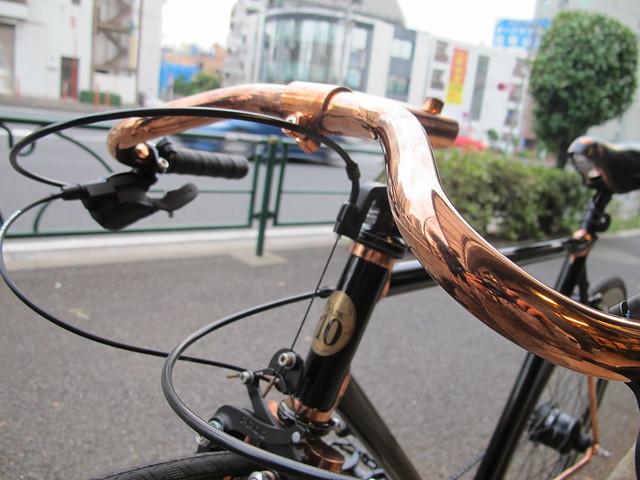 Mr.TMYM's Bronze plating coustom bike