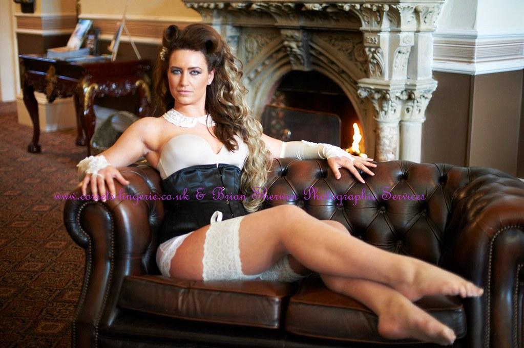 789f34056 Abi wearing black waist cincher corset steel boned perfect for wedding day  lingerie small waist chincher