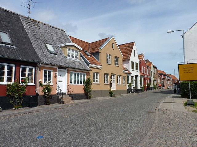 Quant little street in Sønderborg