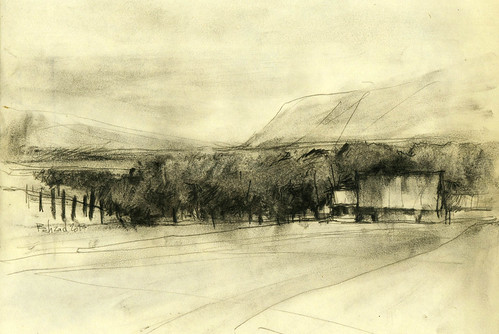On the Road (Saman) Sketch2 by Behzad Bagheri Sketches
