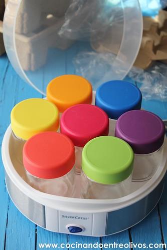 Yogur natural azucarado Yogurtera Lidl www.cocinandoentreolivos (2)
