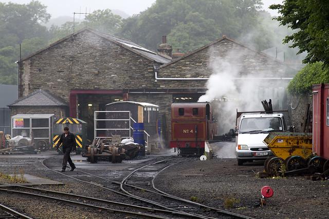 Isle of Man Railway Douglas Yard