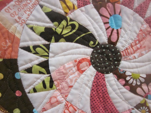 """The Candy Shop"" by Miyuki Hamaba, close up quilting 2"