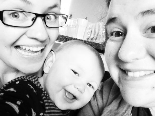 a family portrait - February