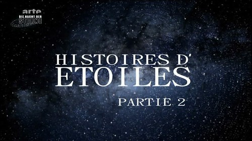 Histoires d'étoiles - Deuxième partie