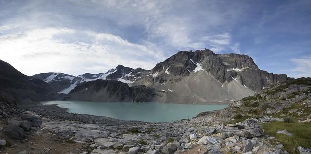 Wedgemount Lake Panoramic