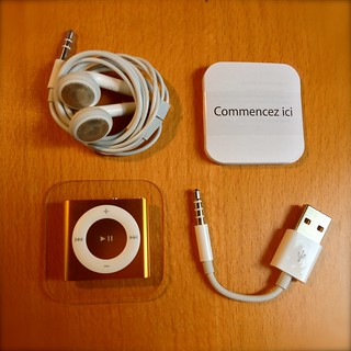 Apple iPod Shuffle 2GB 4G Orange