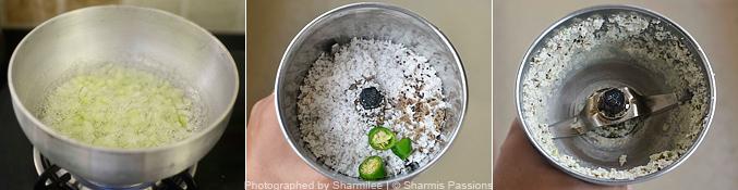 How to make cucumber kichadi - Step2
