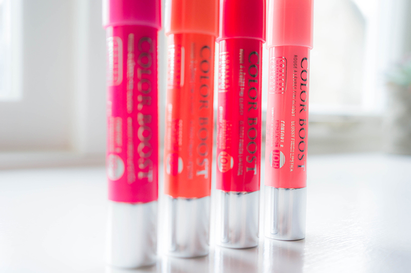 Bourjois Color Boost Lip Crayons Side View | www.latenightnonsense.com