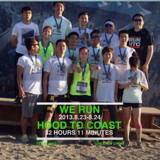 Hood to Coast Japan and California