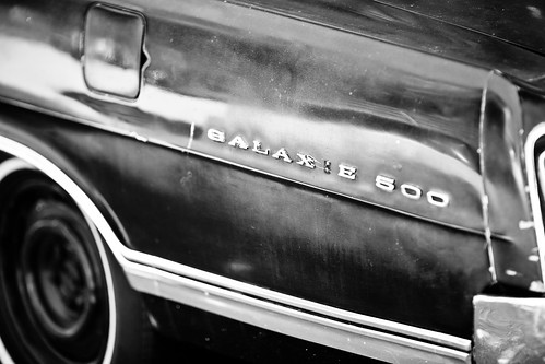 Galaxie 500 car sign