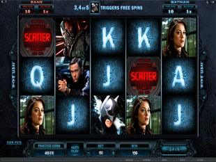 The Dark Knight Rises slot game online review