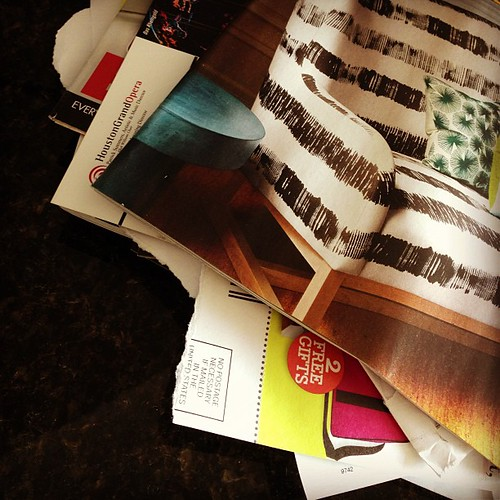 95% of the mail we receive is junk #weekinthelife