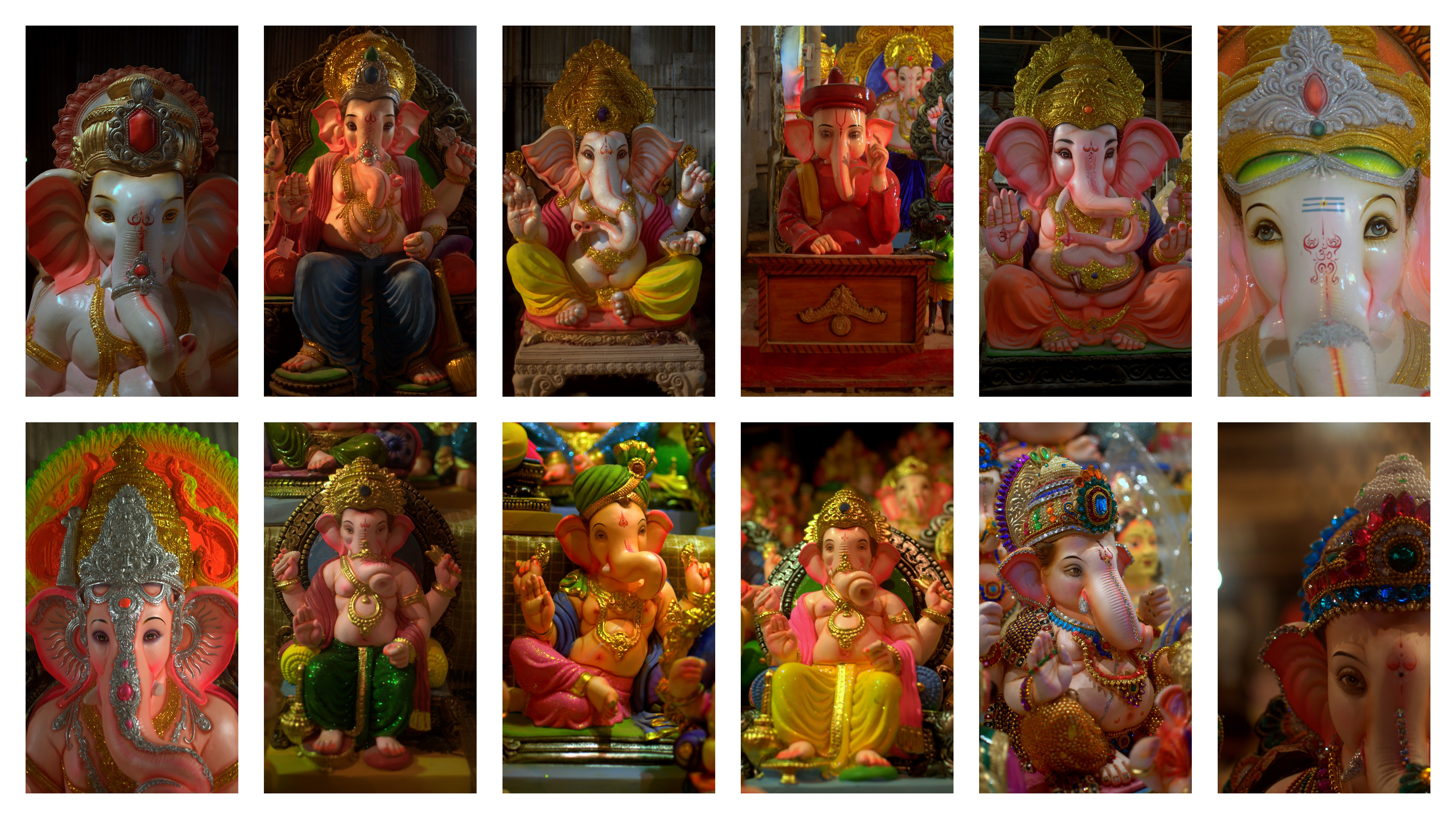 2013-09-10 Ganesh Idols