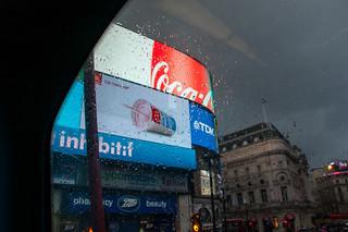 Les écrans géants de Piccadilly Circus