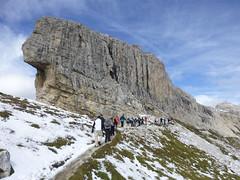 Weiter zum Gipfel der Oberbachernspitze ...