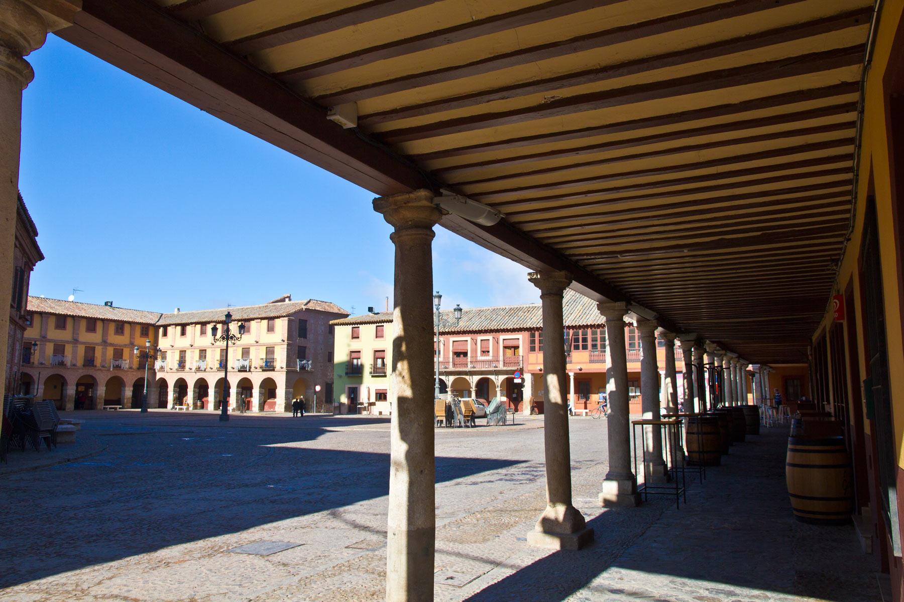1. Plaza mayor de La Solana. Autor, Javier Domenech