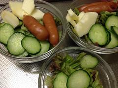 朝食サラダ 2013/9/29