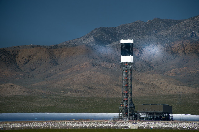 Ivanpah solar array