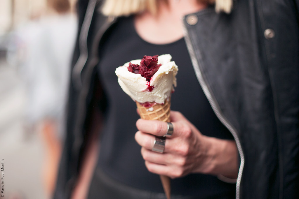 Ice cream from Amorino