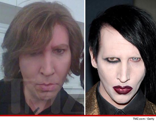 ¡OMG! Así luce Marilyn Manson sin maquillaje