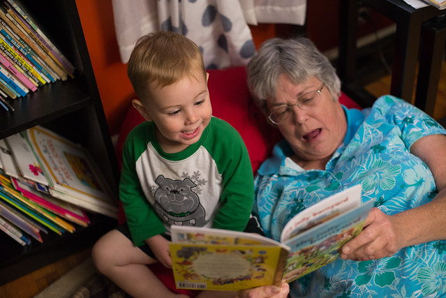 reading with grandma-3