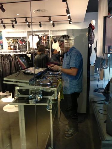 DJ at H&M