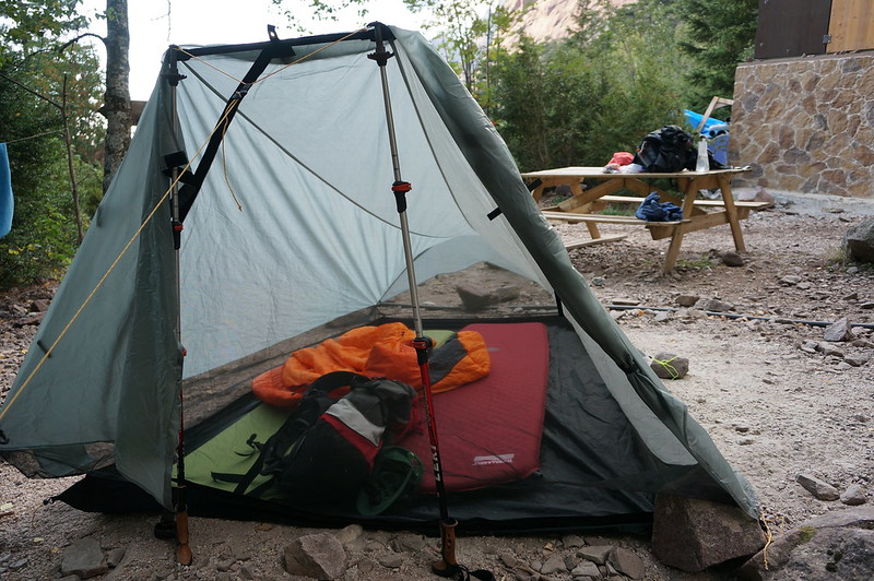 Our Tarptent at Carozzu