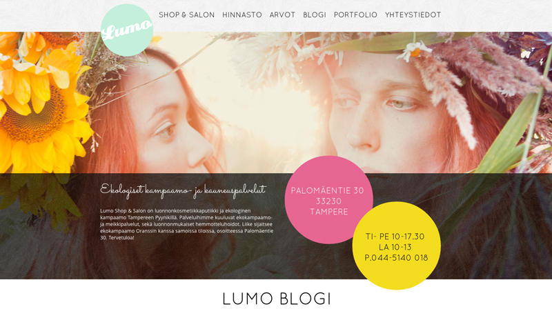 LUMO SHOP SALON TAMPERE