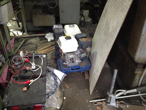 エンジン型薪割り機